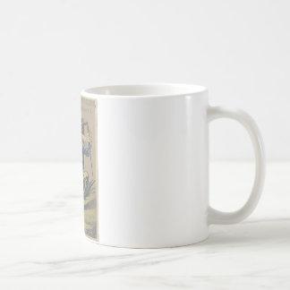 Froggy went a' courting coffee mug