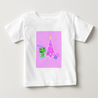 froggy with tree screen t-shirt