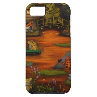 Frogland 2 funda para iPhone 5 tough