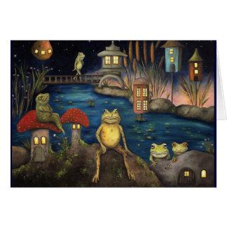 Frogland Card