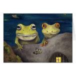 Frogland Detail Greeting Card