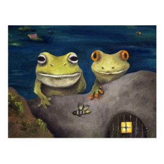 Frogland Detail Postcard