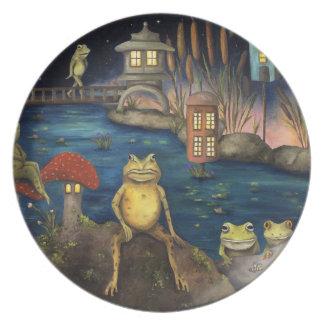 Frogland Dinner Plate