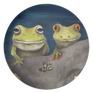 Frogland Plate
