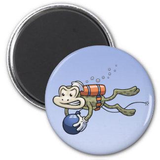 Frogman Magnet