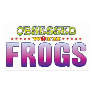 Frogs 2 Obsessed Pack Of Standard Business Cards