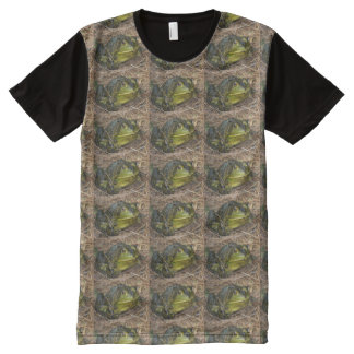 Frogs All-Over Print T-shirt