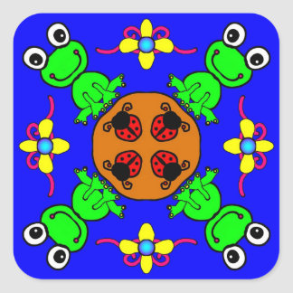 Frogs and Bugs Stickers