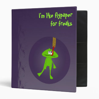 Frogs and Flypaper Avery Binder