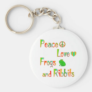 Frogs and Ribbits Keychains