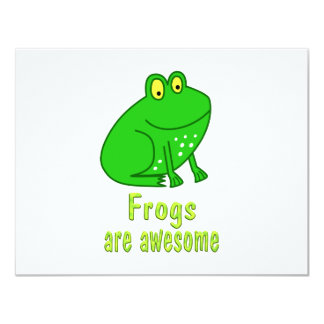 Frogs are Awesome Card