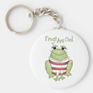 Frogs Are Cool Keychain