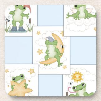 Frog's at Play Beverage Coaster