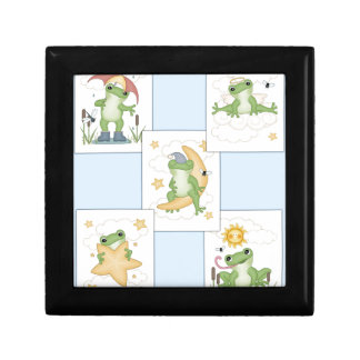 Frog's at Play Jewelry Box