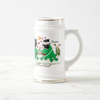 Frogs Beer Stein
