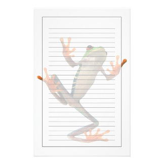 Frogs belly stationery paper