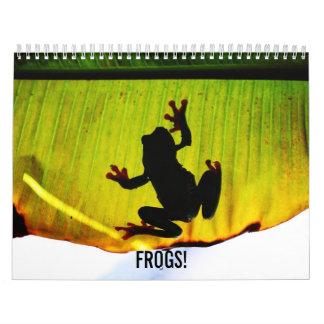 Frogs Calendar