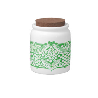 frogs design 🐸 candy jar