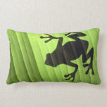 Frogs design Throw Pillow