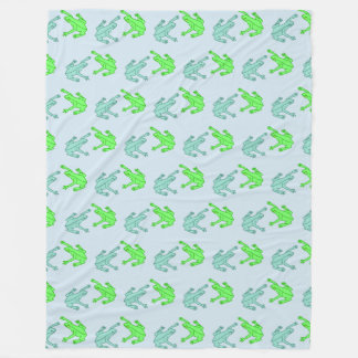 Frogs Fleece Blanket