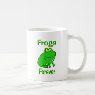 Frogs Forever Classic White Coffee Mug