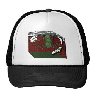 Frogs Freedom Mesh Hat