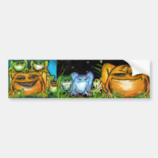 Frogs, frogs and more FROGS! Bumper Sticker