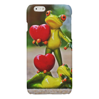 Frogs Glossy iPhone 6 Case