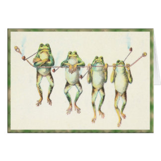Frogs in a Line Card