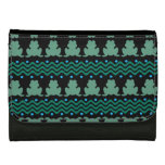 Frogs in a Row Pattern Wallet
