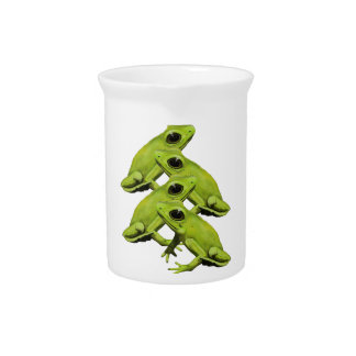 FROGS IN FOUR DRINK PITCHERS