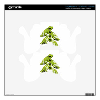 FROGS IN FOUR PS3 CONTROLLER SKINS