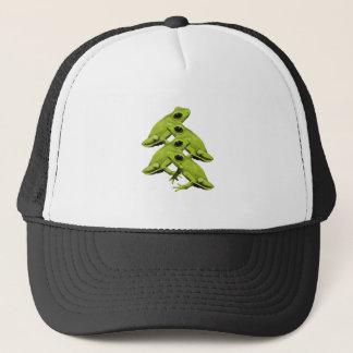 FROGS IN FOUR TRUCKER HAT
