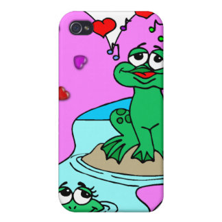 Frogs In Love Case For iPhone 4