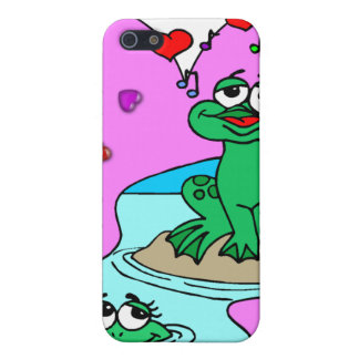 Frogs In Love iPhone 5/5S Covers