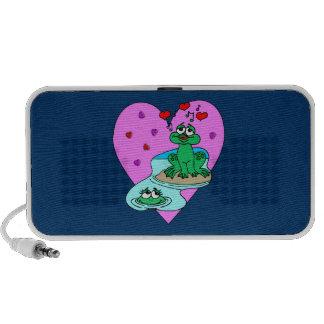 Frogs In Love iPod Speaker