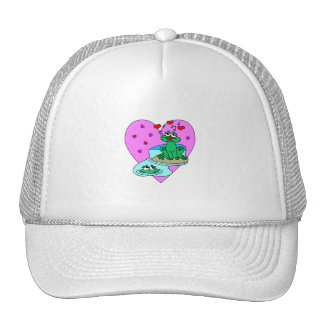 Frogs In Love Trucker Hat