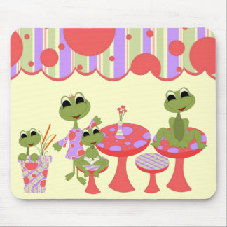 Frogs Life Mousepad