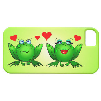 Frogs Love Hearts iPhone 5 Covers