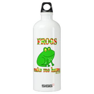 Frogs Make Me Happy SIGG Traveler 1.0L Water Bottle