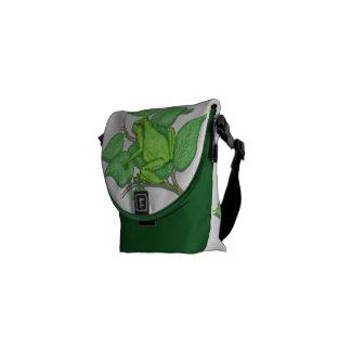 Frogs Messenger Bag