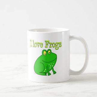Frogs Classic White Coffee Mug