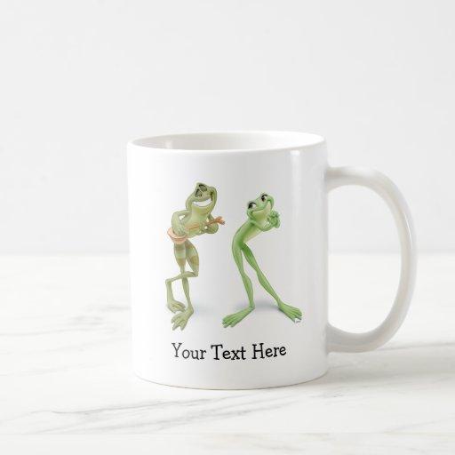 Frogs Music Classic White Coffee Mug