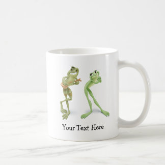 Frogs Music Mugs