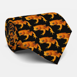 Frogs Night Out Tie
