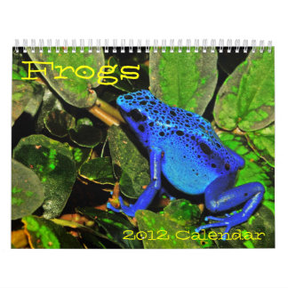 Frogs of the World Calendar