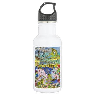 Frogs Paradise 18oz Water Bottle