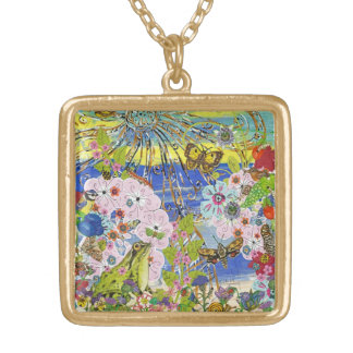 Frogs Paradise Necklace