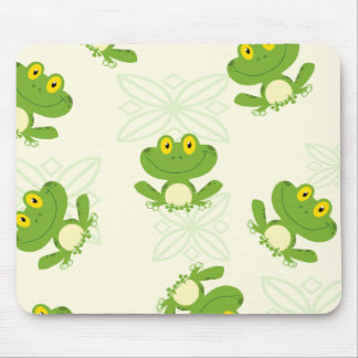 Frogs Pattern Mouse Pad