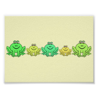 Frogs! Posters